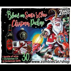 Blood on Santa´s Claw Package