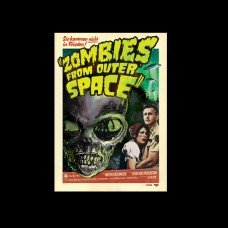 "DVD ""Zombies from Outer Space"""