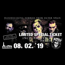 """All these fiendish things"" Release Show Special Ticket"