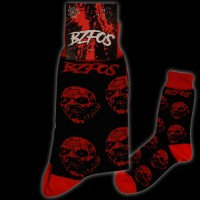 Socken Black and Red